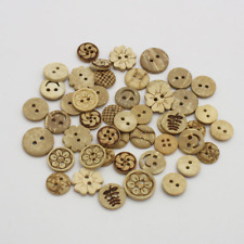 Wood Button for Shirt and Clothes