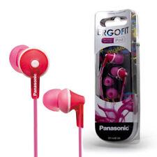 Auriculares deportivos con conexión cable rosa