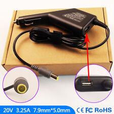 Laptop DC Adapter Car Charger USB Power for Lenovo ThinkPad T430u 6273 8614