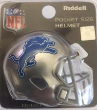 DETROIT LIONS NFL Riddell Speed POCKET PRO Mini Football Helmet