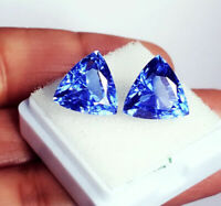 Natural Loose Gemstone 8.00 to 10.00 Ct Blue Sapphire Certified Pairs S173
