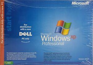 MICROSOFT WINDOWS XP PROFESSIONAL FULL OPERATING SYSTEM MS WIN PRO New SEALED