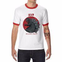 New Men's Funny Kaiju Alpha T-Shirt Cotton Short Sleeve Fashion Tops Tee