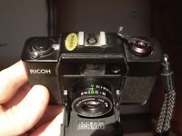100% TESTED working Ricoh FF-1 Compact 35mm film camera