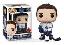 Funko Pop! Auston Matthews Toronto Maple Leafs 2018 Fan Expo Canada Exclusive
