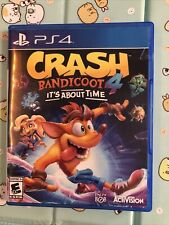 Crash Bandicoot 4 It's About Time (Sony Playstation 4, Ps4)
