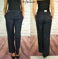 NEXT LADIES BOOTCUT NAVY BLUE WORKWEAR TROUSERS NEW IN 3 LEG LENGTHS 190
