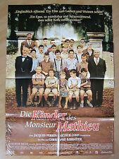 Filmposter * Kinoplakat * A1 * Die Kinder des Monsieur Mathieu * EA 2004