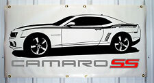 2010-13 Camaro SS emblem custom banner sign 2'X4' NEW COLORS AVAILABLE