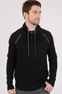 Brave Soul Black Jumper Sweatshirt Pullover - Sizes Medium-XL