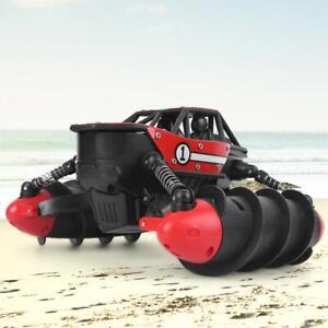 2.4G Spielzeug RC Ferngesteuertes Amphibien Fahrzeug Wasserdicht Kinder Auto