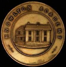 CANADA Quebec Brome Lake Knowlton Academy Samuel Baxter Foster Prize Inv 4782