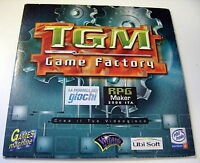 TGM Game Factory. Fabbrica dei Giochi. Crea il tuo Videgioco PC (Italiano)