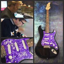 GFA Brian Setzer Band * STRAY CATS * Signed Electric Guitar PROOF AD2 COA