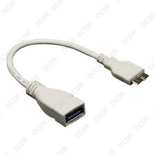 USB 3.0 B Macho A Hembra Usb Un Adaptador OTG Plomo Para Samsung Galaxy 3 N9000 Note
