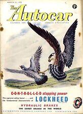 Autocar Magazine 1952-21/3, 2-Litre Racing Frazer-Nash - Le Mans Mercedes