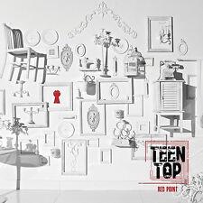 K-pop Teen Top - Red Point (CHIC) (7th Mini Album) (TTOP07MN_Chic)