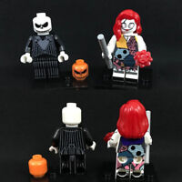 NEW Jack & Sally Minifigure Custom Set Minifigures Nightmare Before Christmas