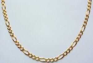 "Necklace Chain Yellow Gold 9 Carat 18"" Men's Girls Boys Women Unisex Jewellery"