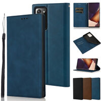 For Samsung Galaxy Note 20 Ultra Case Flip Leather Wallet Magnetic Stand Cover