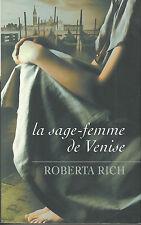 Livre la sage-femme de Venise Roberta Rich book