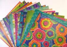 """Ole Fiesta Collection 12"""" x 12"""" Cardstock Paper Stack 18 Sheets Hispanic Sabor"""