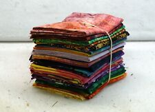 Quilt Fabric Fat Quarter Bundle In Batiks And Handyed #1572