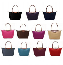 New Authentic Longchamp Le Pliage 1899 Nylon Tote Handbag Travel Bag Large