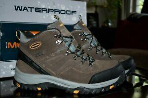 Skechers Hiking Boots RelaxedFIT Memory Foam, Men's sz 10.5. NEW in box