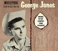 George Jones Sings CD Expanded Edition 29 Tracks 2015 NEW