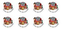 24 Personalised Paw Patrol, Birthday, Goody Bag Stickers Party Thank You