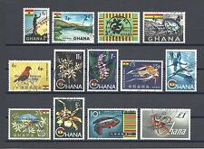 GHANA 1965 SG 381/93 USED Cat £25