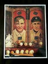 """No. 11 """"Christy & Ty"""" ~ Ty Cobb Historic Baseball Poster (A-2)"""