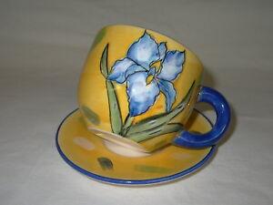 Pflanz-Tasse gelb