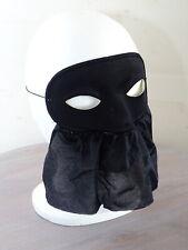 Schwarze Gesichtsmaske Stoffmaske Augenmaske Karneval in Venedig Maskenball
