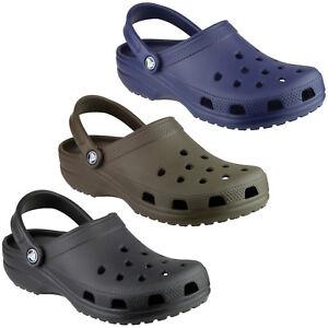 Crocs Classic Clogs Unisex Croslite Lightweight Strap Mens Womens Shoes Sandals