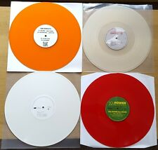 "HOUSE, DEEP, ELECTRO COLOURED VINYL 12"" JOB LOT 2013 RECORD COLLECTION NEW CRAFT"