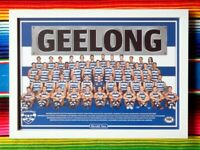 ✺Framed✺ 2020 GEELONG CATS AFL Poster - 62cm x 44.5cm x 3cm