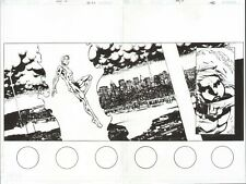 GEN 13 #1 ORIGINAL COMIC ART PAGES 2-3 DOUBLE PAGE SPLASH CLASSIC GEN13 1ST ISH