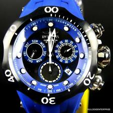 Invicta Venom Cobra Blue Black Chronograph Swiss Made 52mm Watch 16988 New