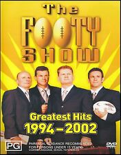 FOOTY SHOW ( NRL ) GREATEST HITS 1994-2002 PAL DVD ~THE RUGBY LEAGUE~FATTY *NEW*
