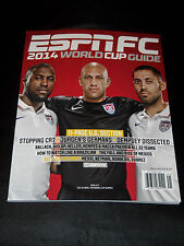 ESPN FC JULY 2014 SPECIAL EDITION US USA FIFA WORLD CUP SOCCER GUIDE MAGAZINE