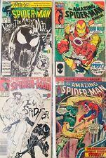 Increíble Lote De 4 Cómics Amazing Spiderman Originales Americanos. 1st Series.