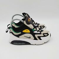 Nike Air Max 200 Youth Size US 2.5Y Shoes Sneakers White/Black AT5628-100