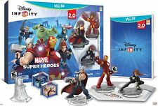 Disney INFINITY Marvel Super Heroes (2.0 Ed.) Video Game Wii U -FREE US SHIPPING