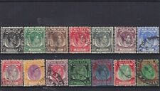 Straits Settlements KGVI SG 277/292 Used Collection
