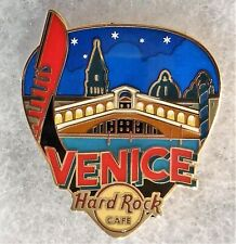 HARD ROCK CAFE VENICE GREETINGS FROM GUITAR PICK SERIES PIN # 96358