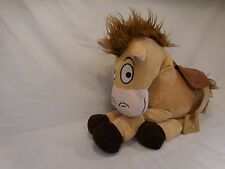 Disney Toy Story Bullseye Plush Doll Horse Toy Figure 18 inch Brown with Saddle
