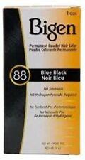 Easy to Use Permanent Blue Black Hair Dye Powder w/ Ammonia Free Formula (3ct)