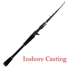 KastKing BlackHawk Ii Casting Fishing Telescopic Rod Inshore Fishing 7'6' Mh